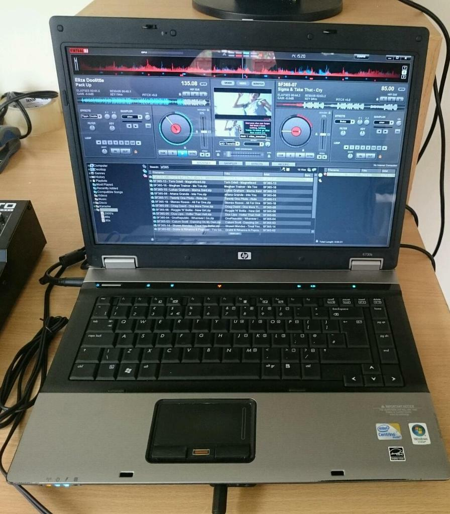 Disco Karaoke Music Video Laptop With Virtual Dj In