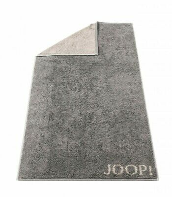 JOOP! Premium Handtuch Duschtuch Doubleface Graphit Frottier Gästetuch
