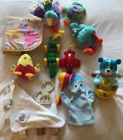 Toy bundle for newborn onwards