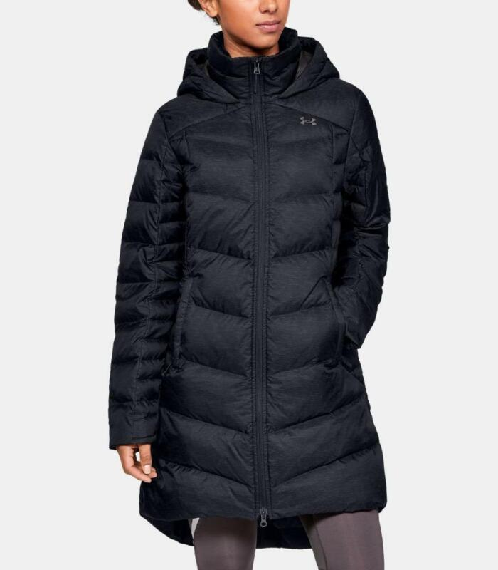 NEW UNDER ARMOUR OUTERBOUND DOWN PARKA Black UA Puffy Women