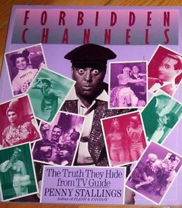 NEW BOOK - FORBIDDEN CHANNELS THE TRUTH THEY HIDE FROM TV GUIDE