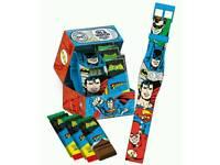 DC Comics Superhero Watch & Chocolate in Keepsake Gift Tin