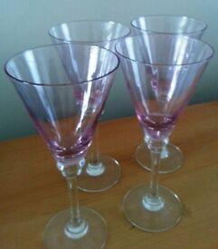 Next wine / cocktail glasses - set of 4