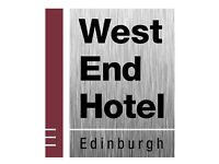 2 x Live in Assistants available in our WestEnd Hotel & Hostel & 1 x Housekeeper
