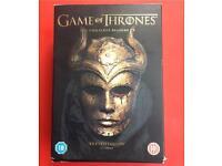 Game of thrones 1-5 DVD full complete seasons