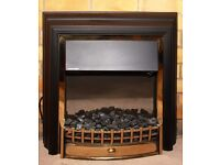 Dimplex Cheriton Fire with Optiflame Effect and real coals. RUGBY