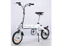"Foldable 14"" Electric Bike"