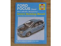 Ford Focus Diesel (05 - 11) Haynes Repair Manual