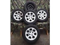 Alloy car wheels