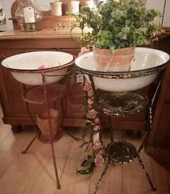 French vintage washstands