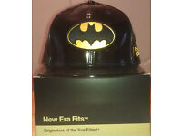 DC Comics Batman New Era Cap 59FIFTY 7 3/8 (Hat, Snapback,Dsquared2, Supreme, Nike, Cap)