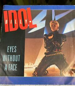Billy Idol Eyes without a Face 7 inch