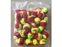 Mini Tennis Stage 1 RED Tennis Balls 1 Dozen or Bag of 48