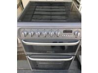 Hotpoint 60cm double gas cooker free delivery