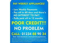 PAY WEEKLY WASHING MACHINES COOKERS DRYERS FRIDGE FREEZERS