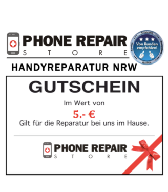 Wtal-5€ Gutschein - Handy Reparatur iPhone 5s 6s 7+ 8+ Display in Wuppertal