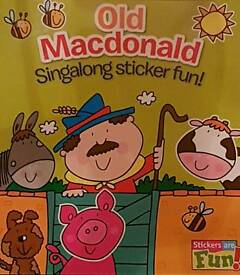 OLD Macdonald Sticker book