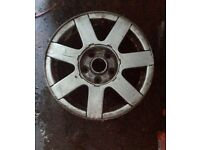 "VW PASSAT ALLOY WHEEL 7 SPOKE MK5 TDI 1997 2002 15"" 3B0 601 025 A Set of 2"