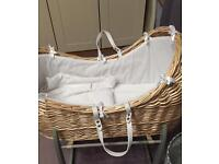 Baby Moses basket for sale!