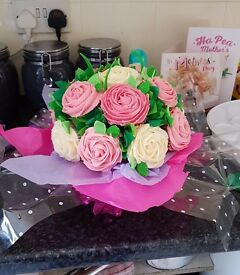 Beautifull cupcake boque for any occasion any colours