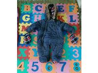 Baby boy Snowsuit 3-6 months