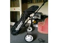 Full golf set with cart