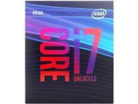 Boxed Unused Intel Core i7 9700K 3.6GHz Octa Core LGA1151 CPU