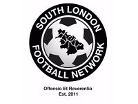 11 aside football in South London: Players wanted for football team. SUNDAY FOOTBALL TEAM. Ref: