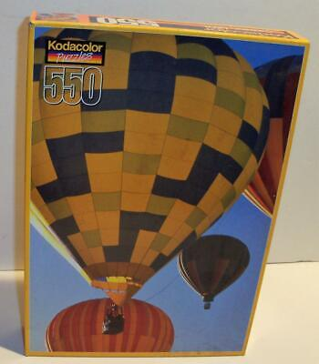 New Sealed 2000 Kodacolor BALLOONS 550 Pc Jigsaw Puzzle #20550 - 2000 Balloons
