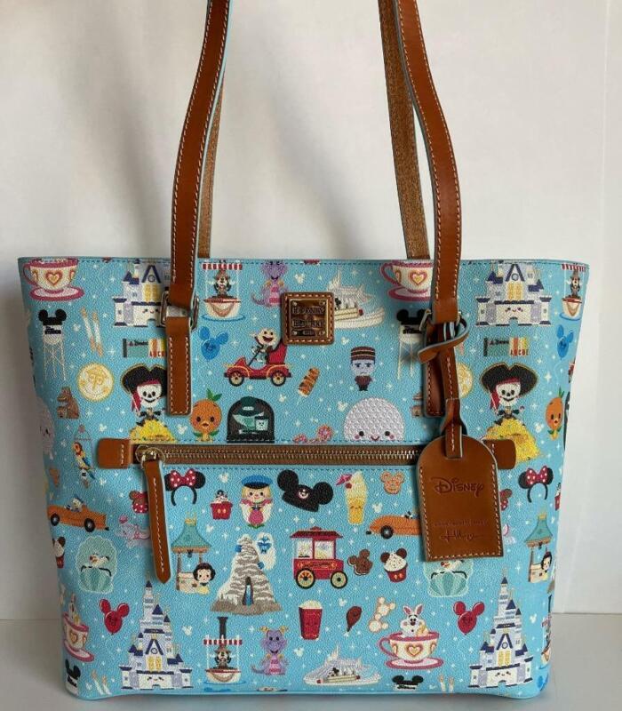 Disney Dooney & Bourke Tote by Jerrod Maruyama Handbag NWT