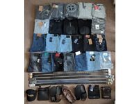 Tracksuits Jeans Jumpers Hoodies Belts Bags
