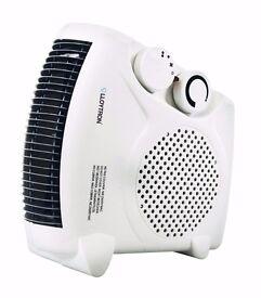 Benross Horizontal/ Upright Fan Heater, 2000 Watt, White - NEW - BOXED