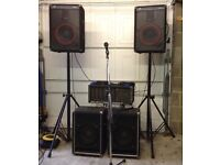 Complete PA - Peavey PA System