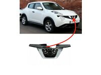 For Nissan Juke 2014-2019 Front Bumper Main Badge Grille With Chrome New