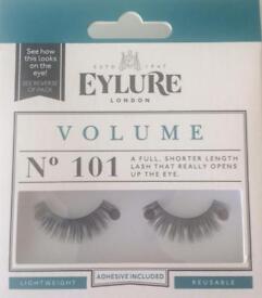 Eylure eyelashes 100 boxes £50.00