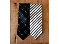 2 Givenchy Gents/Mens Ties - Perfect condition