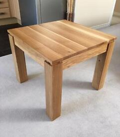 New Solid Oak Side Table/ Coffee Table