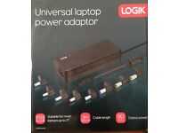 "UNIVERSAL LAPTOP POWER CHARGER (LOGIK MODEL) "" Free dilivery inside the UK"""