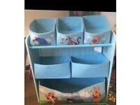 Winnie the Pooh storage unit baby todlet nursery