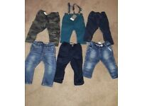Mixture of baby clothes 6-9 and 9-12 months