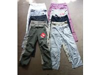 10 x North Face Womens Activewear Trousers Pants Job Lot Bundle - Brand New w/ Tags, Size 8 & Medium