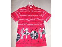 BNWT men's Dancing Days repro 1950s bowling / Hawaiian shirt - medium