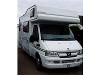 2003 ELDDIS AUTOQUEST 300, 2.O HDI, 43K, FSH , 5 BERTH MOTORHOME, INCL AWNING AND EXTRAS