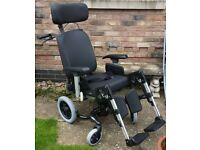 IBIS Breezy Tilt-In Space DeLuxe Wheelchair fully adjustable