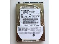 Toshiba 120GB 5400RPM SATA 3Gbps 8MB Cache 2.5-inch
