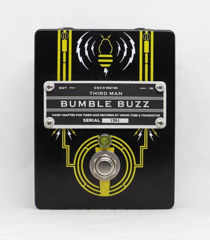 Third Man Black Bumble Buzz Guitar Pedal