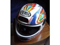 Premier motorbike helmet size Small (55cm) £30