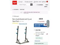 Men's Health Barbell and Squat Stand RRP £89.99