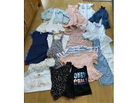 Large bundle of girls spring summer clothes monsoon, next, river island Zara,age 9-10