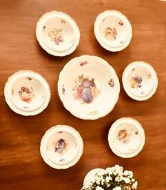 Antique Dessert Dishes